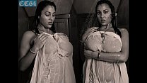 busty Urmila aunty displays her big boobs in shower