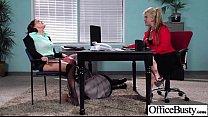 18298 (krissy lynn) Sex In Office With Big Melon Juggs Slut Girl clip-25 preview