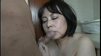 Image: Mature beautiful Asian with big tits fucks with a young man