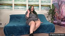 Horny Plumper Becki Butterfly Shows Off Her Fat Body and Fucks a Guy