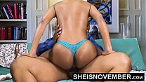Pornstar Msnovember Riding Her Slim Hips With Big Ass Ebony Hardcore Fuck HD Sheisnovember صورة