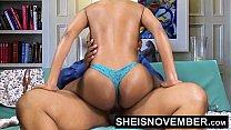 Pornstar Msnovember Riding Her Slim Hips With Big Ass Ebony Hardcore Fuck HD Sheisnovember صورة
