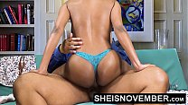 16019 Pornstar Msnovember Riding Her Slim Hips With Big Ass Ebony Hardcore Fuck HD Sheisnovember preview