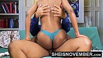 9233 Pornstar Msnovember Riding Her Slim Hips With Big Ass Ebony Hardcore Fuck HD Sheisnovember preview