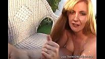 Redhead Cougar Jerks Off Friend