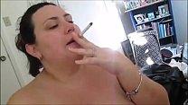 BBW Smokes and Sucks Cock