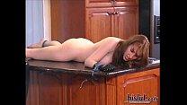 Wonderful Natali Demore redhead punished like a...