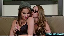 Sex Tape With Lesbians Punishing Cute Lez Girl video-19 pornhub video