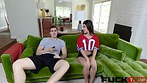 Gianna Gem In Bets Get Her Wet's Thumb