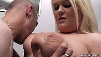 He licks then doggy-fucks her fat pussy Preview