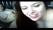 Amateur - Lesbian Teen Sisters on Webcam