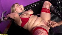 Her First Bbc B dsm Interracial For Chubby Mil  For Chubby Milf