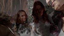 Hot investigator read a diary - Sara Luvv, Riley Reid, Karlie Montana Preview