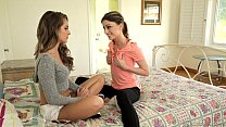 Kristen Scott makes Kimmy Granger curious - Gir...