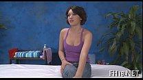 In nature's garb erotic massage video