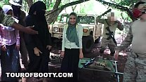 12863 TOUR OF BOOTY - Fresh Arab Pussy For These Horny American Soldiers preview