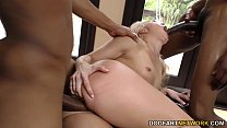 AJ Applegate gets gangbanged and ass fucked by black dudes صورة