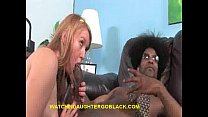 Daughter Likes Big Size Black Cock