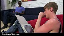 Muscled black gay boys humiliate white twinks h...