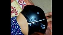 Cum on her  leather ass Vorschaubild