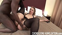 I am going to gag on his black cock while you watch pornhub video