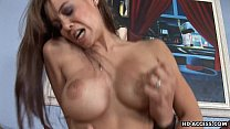 Busty bitch gets her soaking wet pussy plastered - download porn videos
