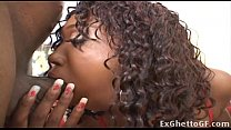 Black Girl With Huge Tits In Threesome