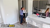 BANGBROS - Husband Stretches Real Estate Agent Synthia Fixx's Ass Behind Wife's Back thumbnail