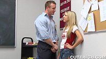 Angry School Teacher Pounding Sexy Teen preview image
