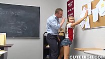Angry School Teacher Pounding Sexy Teen