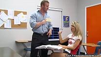 Angry School Teacher Pounding Sexy Teen Vorschaubild