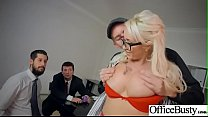 Hot Sex In Office With Big Round Boobs Girl (Christina Shine) video-07 preview image