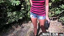 Mofos - Public Pick Ups - (Kristina Miller) - Smoking Russian Swallows Cum