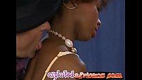 Hot ebony girlfriend loves anal creampie pornhub video