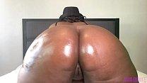 7 Minutes Of Huge Ebony BBW Booty Twerking | Music