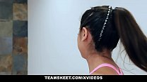 TeamSkeet - Big Tit Teen Fucked on Treadmill