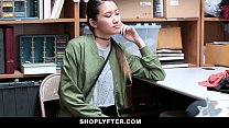 Shoplyfter - Asian Hottie Busted For Stealing Image