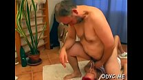 Younger slut is ready to take some old 10-pounder up her wet cunt - download porn videos