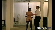 Tit torment xxx porn with woman in need for harsh treatment Thumbnail