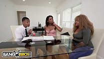 BANGBROS - Tutor Lil D Gets Fucked By His Horny Student Mya Mays In Front Of Her Mom! thumbnail