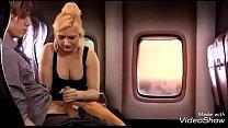 Atrapado en un cuerpo de mujer - transformation porn on airplane