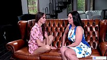 MOMMY'S GIRL - Step Mom confesses her deep feelings - Riley Reid and Mindi Mink thumbnail
