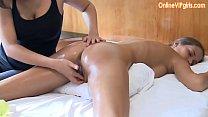 13778 Innocent big ass brunette gets a fisting happy ending massage preview