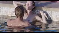Tilda Swinton and Matthias Schoenaerts sex scene in the pool in A Bigger Splash pornhub video