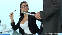 Sexy Milf Jasmine Jae plays the office slut addicted to hard cock Preview