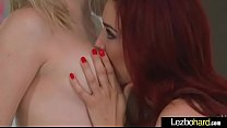 (Jayden Cole & Lily Labeau) Lesbo Girls Play In...