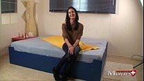 Interview Porn Movie with Swissmodel Louisa 20y in Zürich