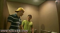 Old men getting fucked gay porn xxx Busted in the Bathroom