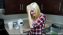 Perfect Little Cute Blonde Chloe Foster Loves To Take Big Pipe