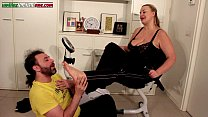 The Carrier Ep1 Second Part- BBW Foot Domination